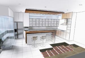 Can you refit underfloor heating to a floor?