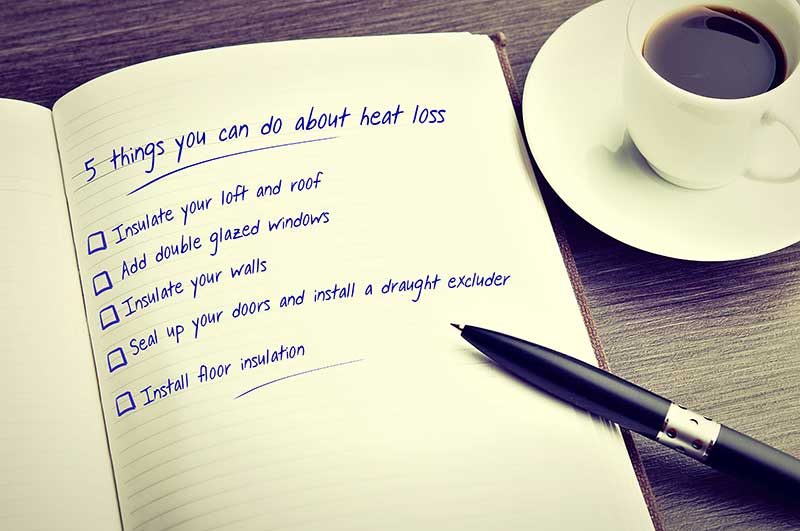 Keep the heat in how to reduce heat loss in your home How can you reduce heat loss in a house