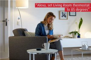 Controlling your Smart Thermostat with a Smart Speaker
