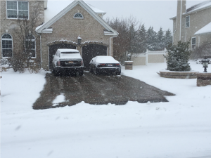 How to remove or melt snow from a Driveway or Sidewalk