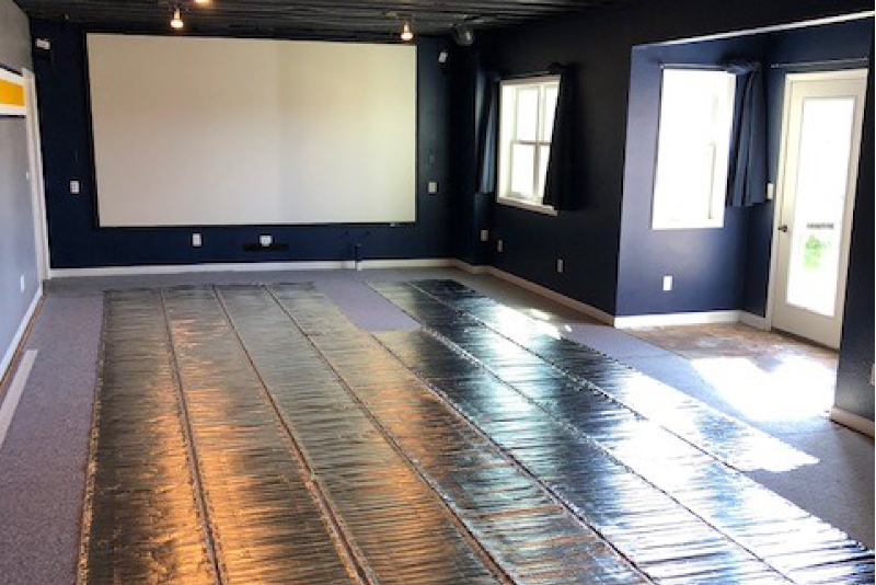 Heated Floor For Your Basement Warmup Usa