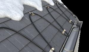 Outdoor Heating Self-regulating Cutaway