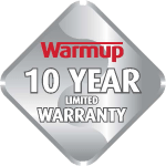 Warmup 10 Year Limited Warranty