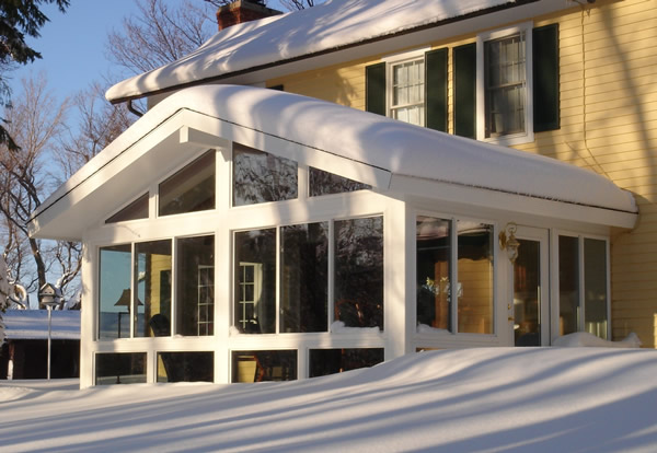 Winter Sunroom